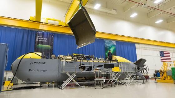 El submarino no tripulado de Boeing que podría revolucionar la industria