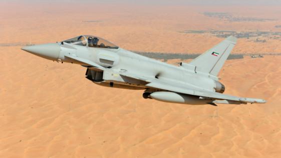 Kuwait firma el contrato para adquirir 28 cazas Eurofighter