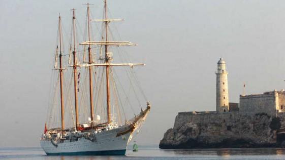 El «Juan Sebastián de Elcano» unirá La Habana y Miami en mayo