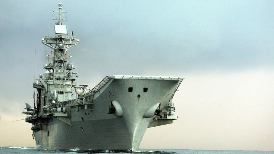 Desierta la subasta para desguazar el portaaviones «Príncipe de Asturias»