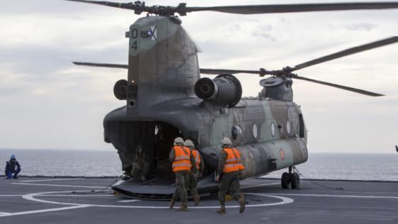 La modernización de cada helicóptero Chinook costará 48,1 millones