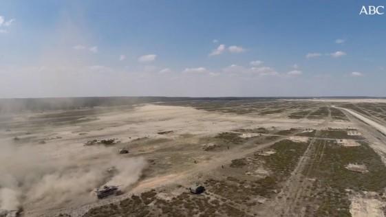A vista de drone: las maniobras del Ejército español en Polonia