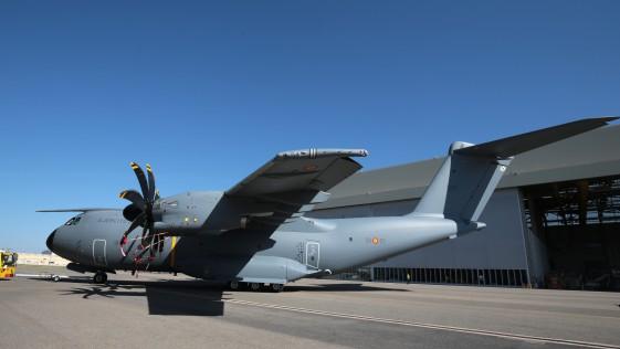 Vídeo: así se pintó el primer avión A400M del Ejército del Aire español