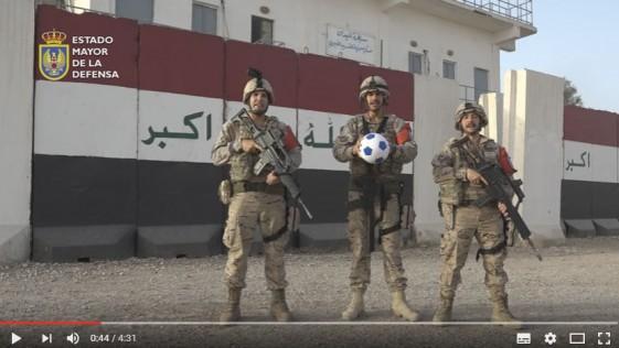 Eurocopa: el apoyo de las Fuerzas Armadas a la Selección Española