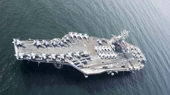 EE.UU. despliega un segundo portaaviones en el Mediterráneo