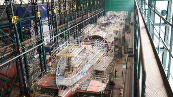 Submarino S-81: la Armada espera tenerlo a flote «en febrero de 2020»