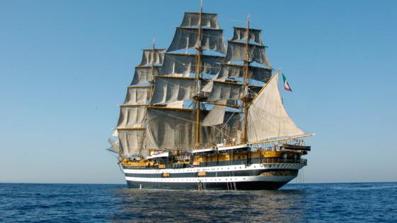 El impresionante buque-escuela «Amerigo Vespucci» visitará Cádiz (28-31 julio)