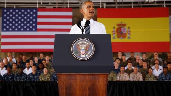 Obama en Rota: «No podríamos pedir un mejor aliado que España»