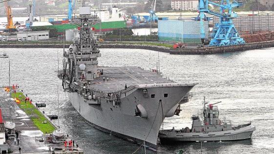 Resultado de imagen para portaaviones Príncipe de Asturias + desguace