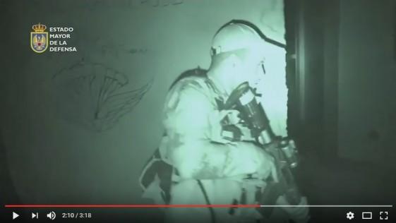 Vídeo: así adiestran los «boinas verdes» españoles al Ejército de Irak contra el Daesh