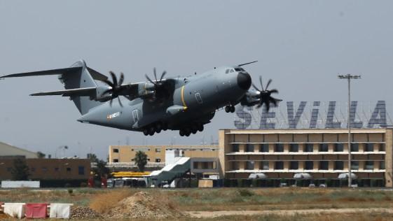 El Ejército del Aire recibe este jueves su primer avión A400M