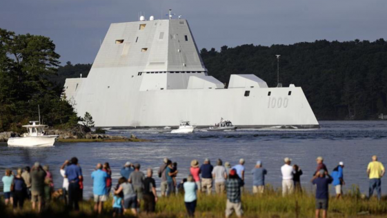 Zumwalt, así es el destructor furtivo con el que EE.UU. quiere revolucionar los mares
