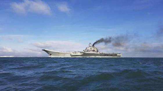 España revisa la escala de la flota del Kuznetsov en Ceuta tras la preocupación de la OTAN