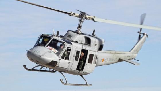 La modernización de helicópteros AB-212 de la Armada Española