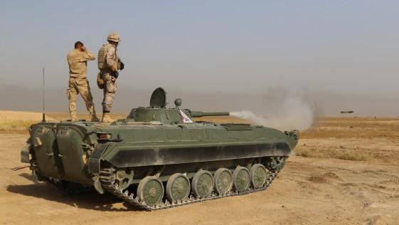 El adiestramiento español en carros de combate, clave en el avance iraquí hacia Mosul