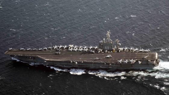 Portaaviones Eisenhower: 1.903 bombas contra el Daesh en cinco meses