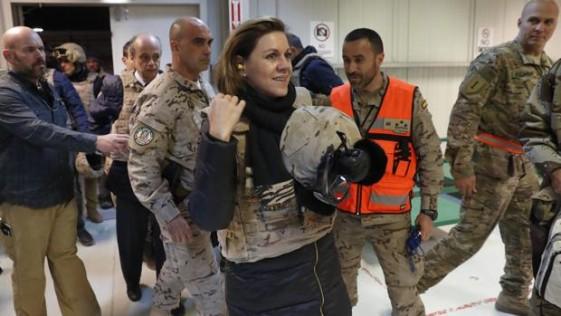 Cospedal explica sus planes en un Congreso que respaldará el envío de más soldados a Irak