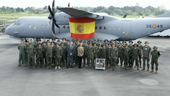 Con las «mambas» del Ejército del Aire en Gabón