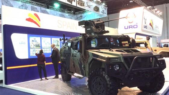 Urovesa, la empresa española que entró en Oriente Medio con el 4×4 Vamtac