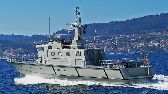 Rodman: el astillero vigués que ha exportado más de 90 patrulleros en Oriente Medio