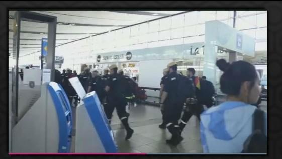 Vídeo: la espontánea y emocionada despedida que Chile brindó a la UME