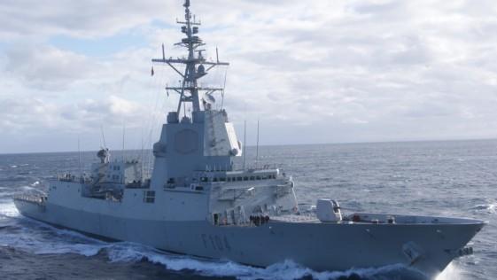 La fragata Méndez Núñez llega a EE.UU. para adiestrarse con el portaaviones Abraham Lincoln