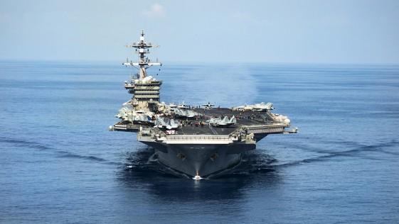 ¿Dónde están los diez portaaviones de propulsión nuclear de EE.UU.?