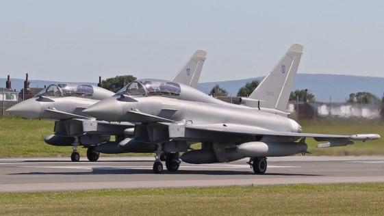 Omán recibe sus primeros aviones de combate Eurofighter