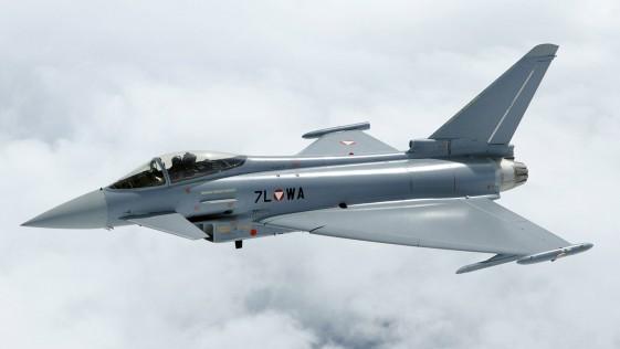 Austria renuncia a su flota de aviones Eurofighter y busca una alternativa