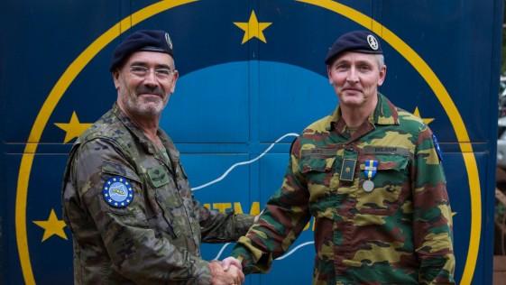 El general García Blázquez, al frente de la misión de la UE en República Centroafricana
