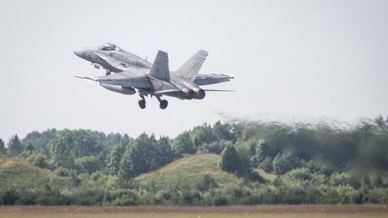 Dos F-18 españoles entran por error en el espacio aéreo de Finlandia persiguiendo a cazas rusos