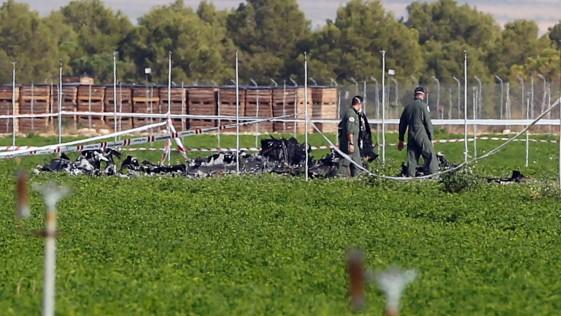 El Eurofighter siniestrado cayó al tratar de subir en la aproximación a la base