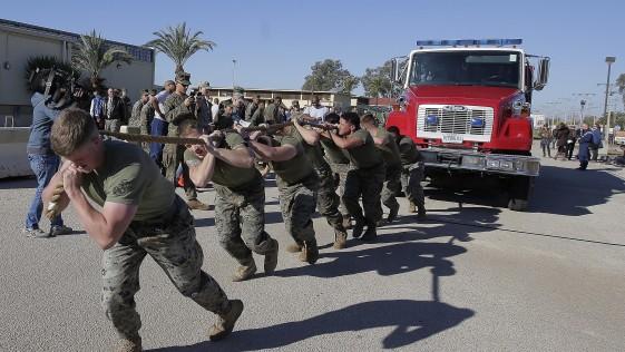 Marines de Morón: 600 soldados «made in USA» a cuatro horas de Libia o Níger