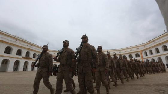 La Infantería de Marina, rumbo a Malí por primera vez
