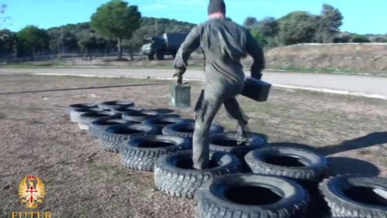 "Vídeo: IFO, el ""crossfit"" militar del Ejército español"