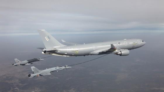 """Bélgica adquirirá un avión cisterna Airbus A330 MRTT dentro del """"pool"""" de la OTAN"""