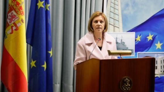 Cospedal: «España es un excelente candidato para albergar el cuartel de la Operación Atalanta»