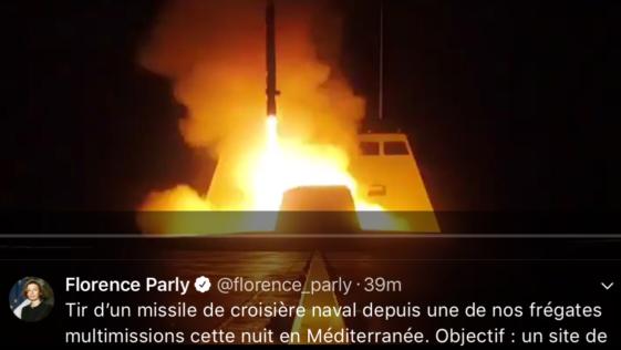 Ataque a Siria: EE.UU., Francia y Reino Unido lanzaron el ataque con buques y aviones Rafale y Tornado
