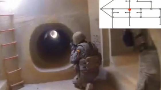 La Legión construye el primer campo de combate subterráneo de España