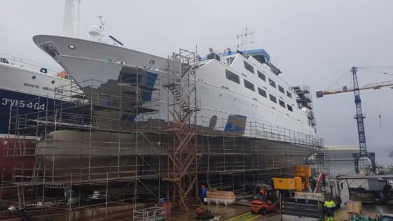 Intermares, el «nuevo» buque escuela y de cooperación pesquera de la Armada