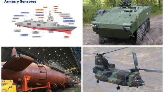Un parón inversor pondría en riesgo la modernización militar