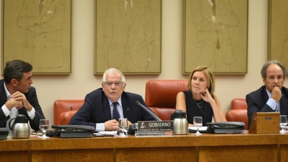 Borrell dio las explicaciones que no ofreció Defensa: «Bombas de precisión»