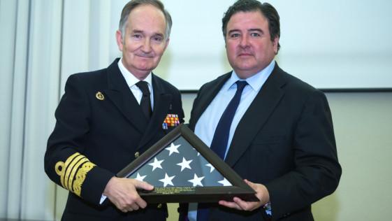 Perfil bajo de Defensa al XXX aniversario del convenio con EE.UU.