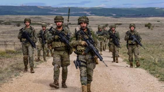 La Legión, al frente de la respuesta militar rápida de la UE