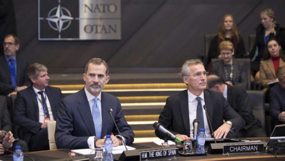 El Rey, la OTAN y la Constitución de 1978