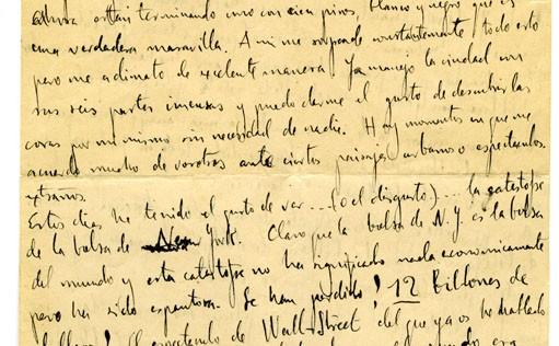 Hay una carta para ti (firmado García Lorca y Kafka)