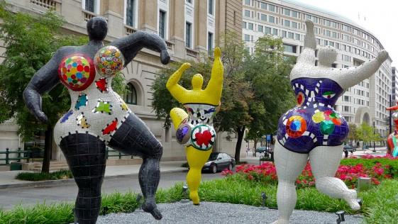 Niki de Saint Phalle, a tiro limpio en el Guggenheim
