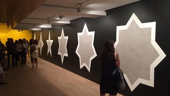 Sol Lewitt tira líneas en la Fundación Botín de Santander