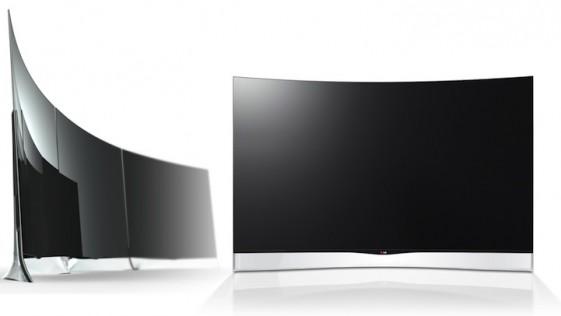 LG lanza el primer televisor OLED curvo del mundo