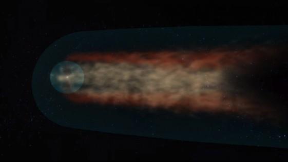Descubren que el Sistema Solar tiene cola, como los cometas